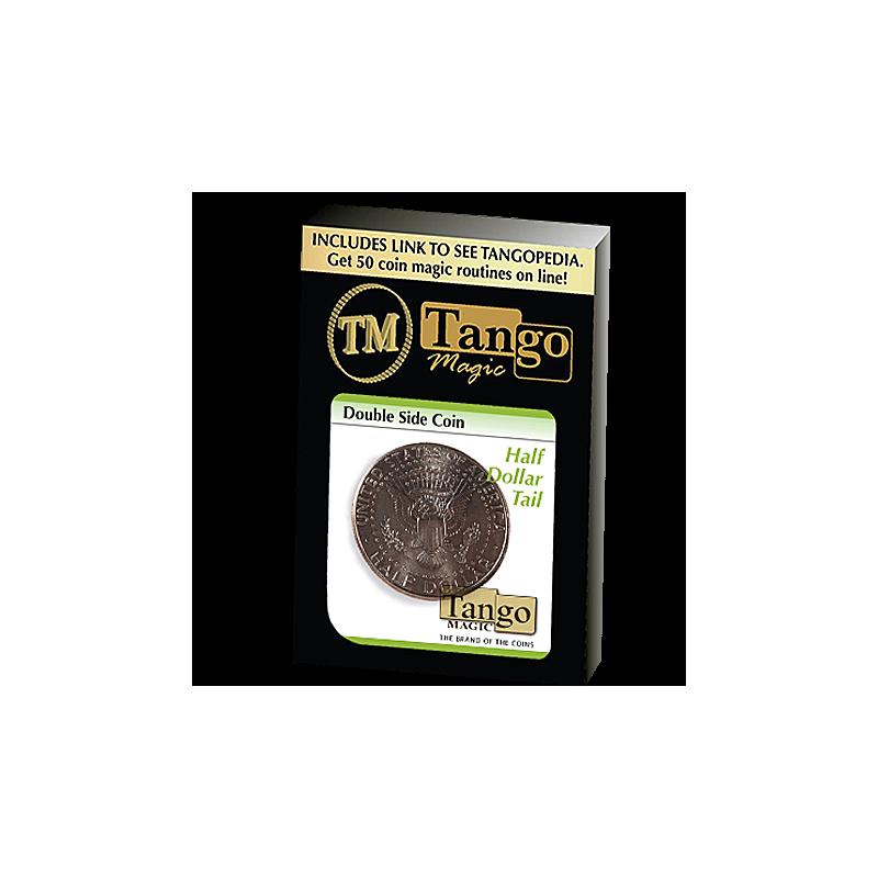 Pièces double face 1/2 dollar aigle (tango)