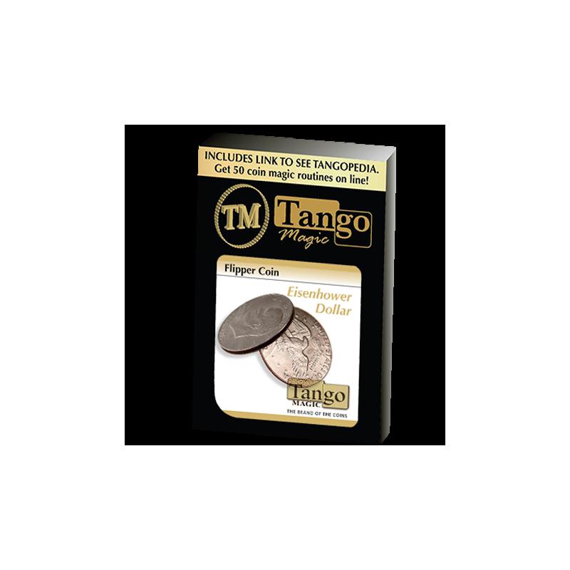 Flipper Coin 1 dollar Eisenhower  ( tango )