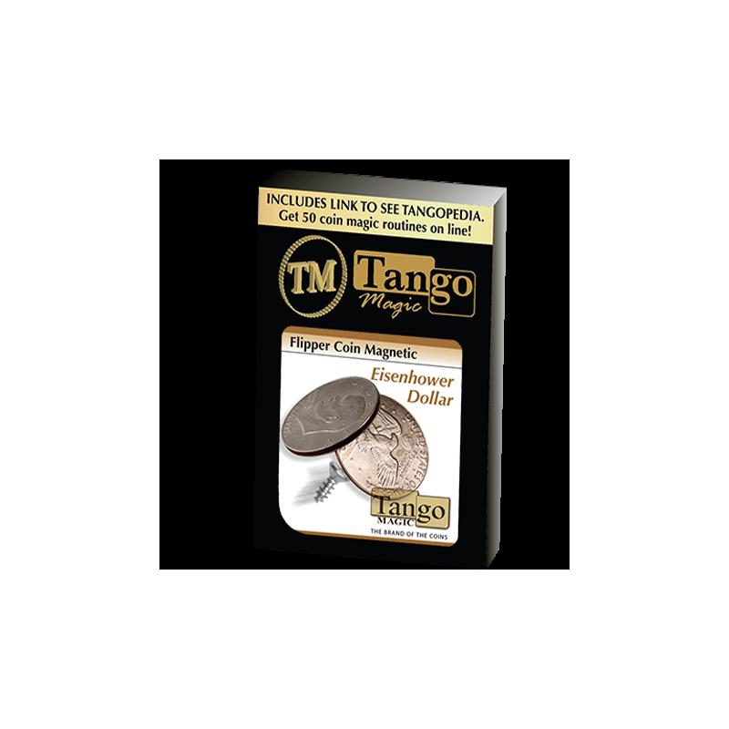 Flipper coin magnetique Eisenhower Dollar ( tango )