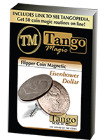 Flipper coin magnetique Eisenhower Dollar ( tango )