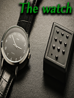 The Watch - Black by Joao Miranda