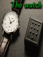 The Watch - White Classic  by Joao Miranda