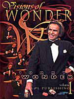 Dvd Vision of wonder vol 1 ( tommy Wonder )
