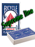 Bicycle supreme Line bleu