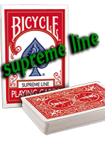 Bicycle supreme Line rouge