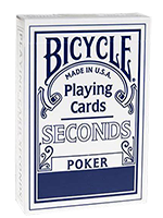 Bicycle poker  second (bleu )