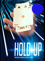 HOLD UP Bleu - Sebastien Calbry