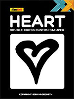 Double cross - Tampon de rechange Coeur