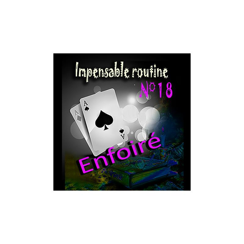 Impensable routine N° 18 - enfoiré  ( Téléchargement )