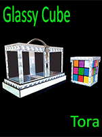 Back of Glassy Cube - Tora