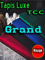 Tapis Grand Rouge TCC Luxe