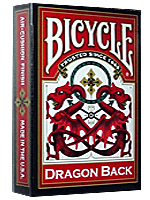 Bicycle Dragon back rouge - 1885
