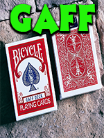 Bicycle Glory Gaff Deck Rouge