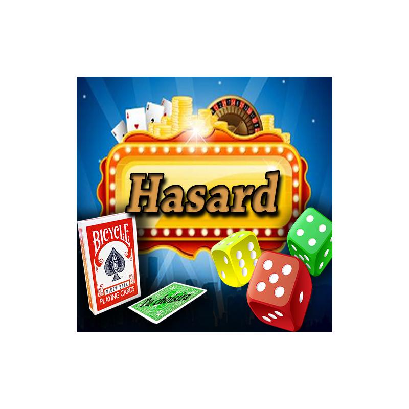 Hasard - bicycle Rouge