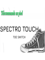 Spectro touch Toe Switch - Déclencheur au pied