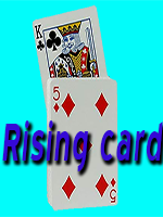 Rising card Bleu (bicycle )