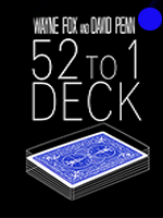 The 52 to one Deck Bleu