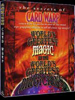 Dvd Card Warp ( World's Greatest Magic)