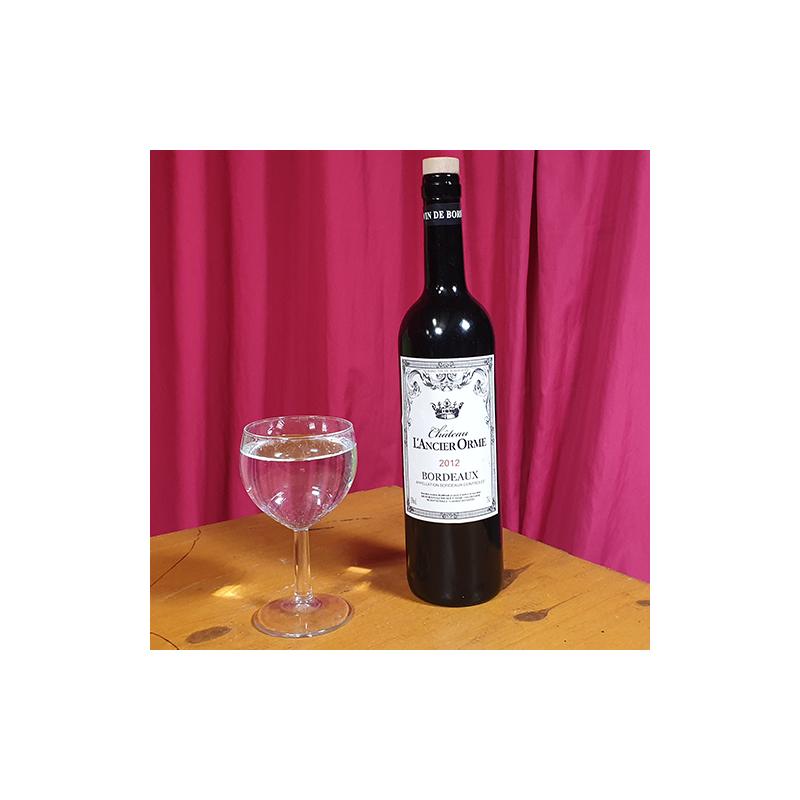 Bouteille de vin latex