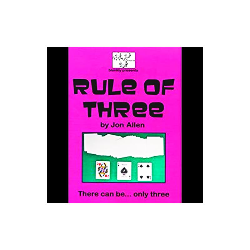 N°48 Rule of Three Jon Allen