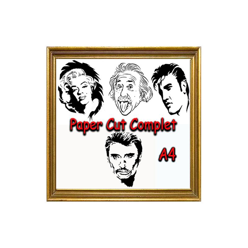 PAPER CUT COMPLET A4 - Série 1