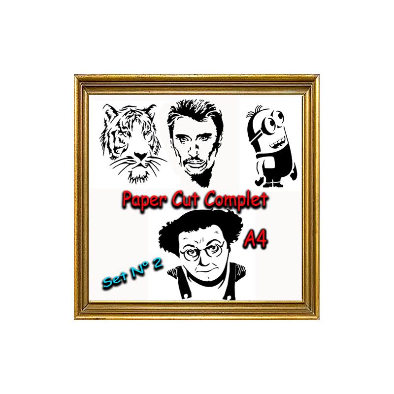 PAPER CUT COMPLET A4 - Série 2