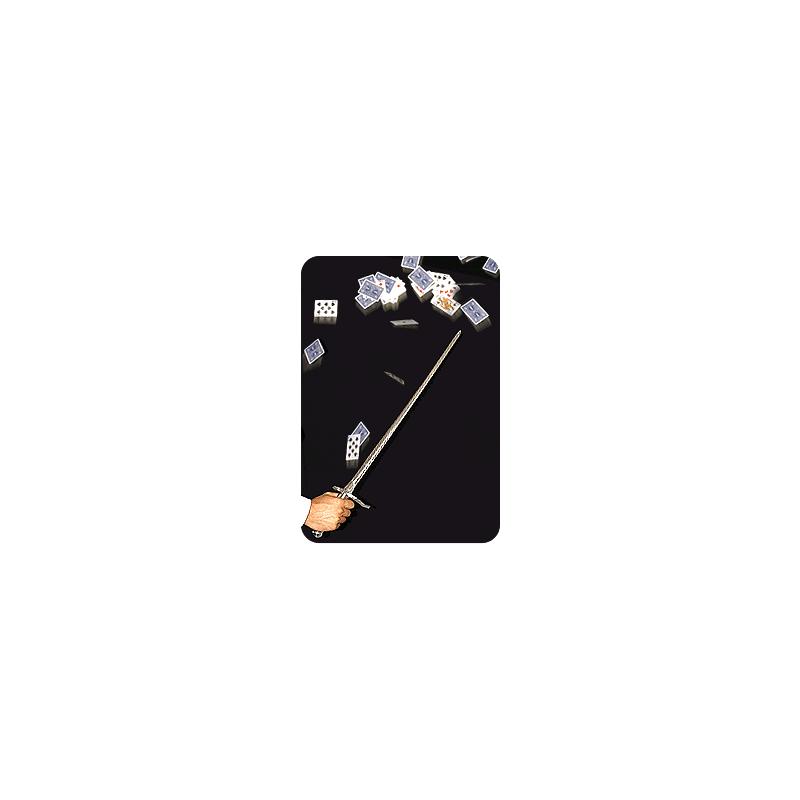 L'Epée chromé en fer - Card Sword