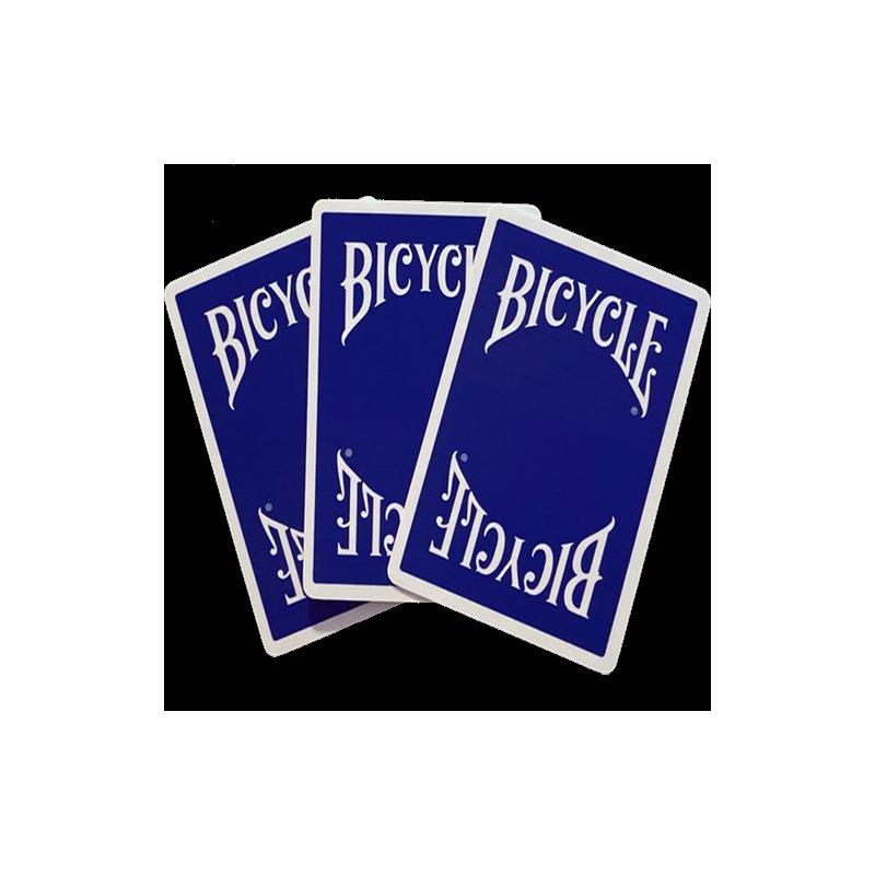 Bicycle Insignia Back Bleu