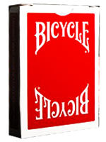 Bicycle Insignia Back Rouge