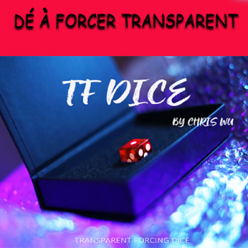TF DICE Transparent Forcing Dice Rouge - Chris Wu