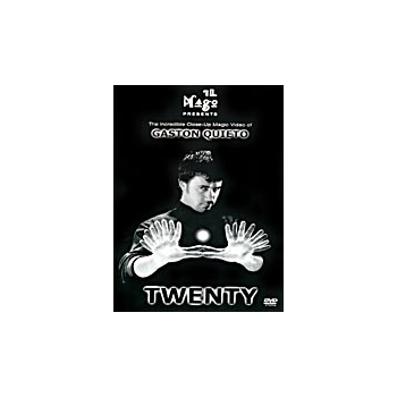 DVD Twenty ( Gaston Quieto )