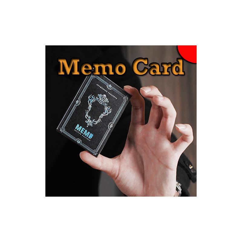 Memo Card Rouge - Sultan Orazaly
