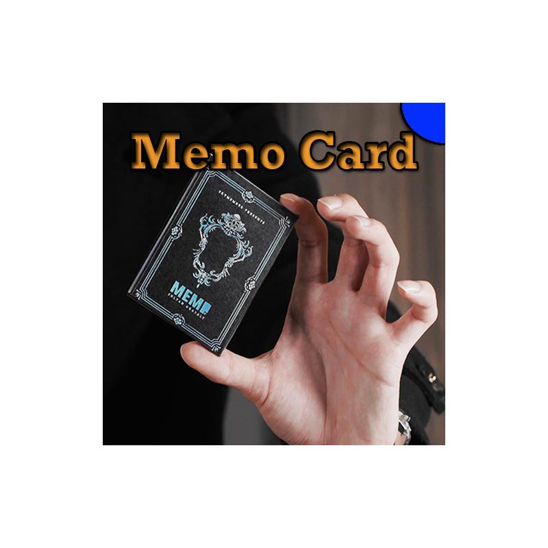 Memo Card Bleu - Sultan Orazaly