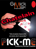 Pick Me Bicycle Rouge - Michael Chatelain