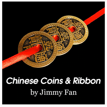 Chinese Coin & Ribbon