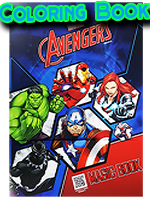 Coloring Book Avengers - JL Magic