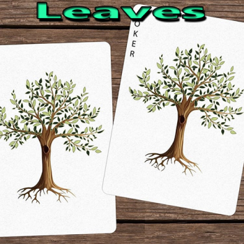 Leaves Playing Cards - Dutch Card House
