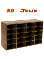 Wooden Playing Cards Cabinet 20 jeux
