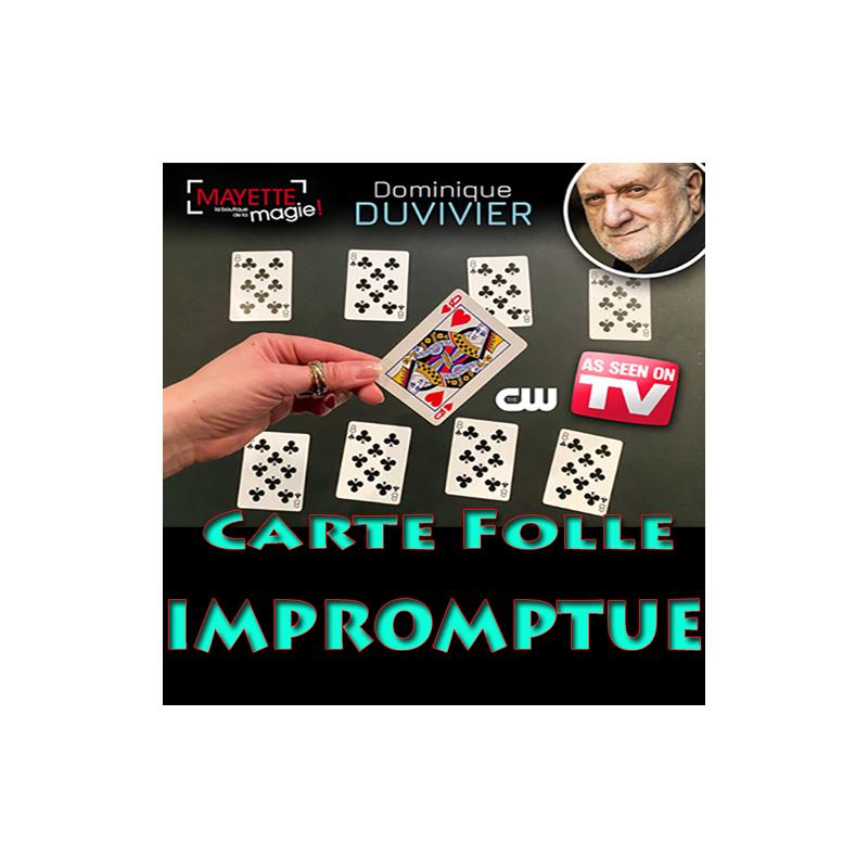 Carte folle Impromptue Duvivier