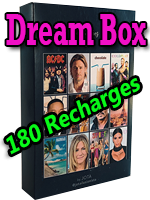 Dream Box Giveaway - Recharge - JOTA