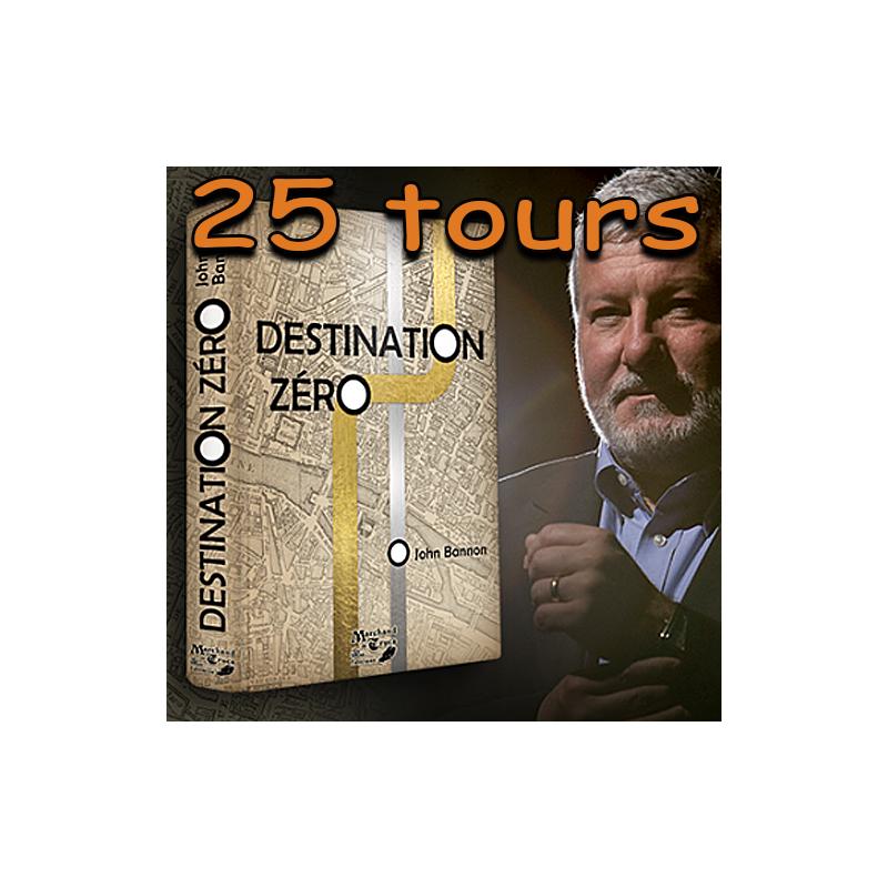 Livre Destination Zero - Bannon John