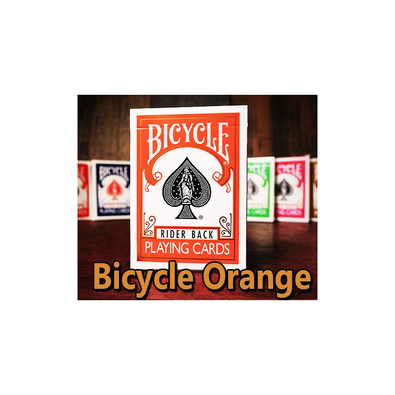 Bicycle Poker Orange