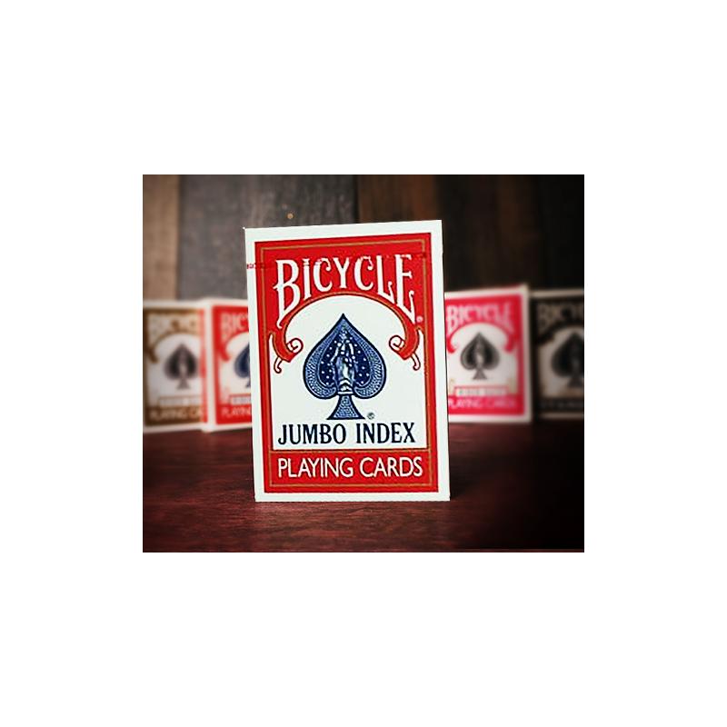 Bicycle poker Jumbo Index Rouge