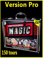 Coffret Magie 150 Tours - Mallette Professionel Magic