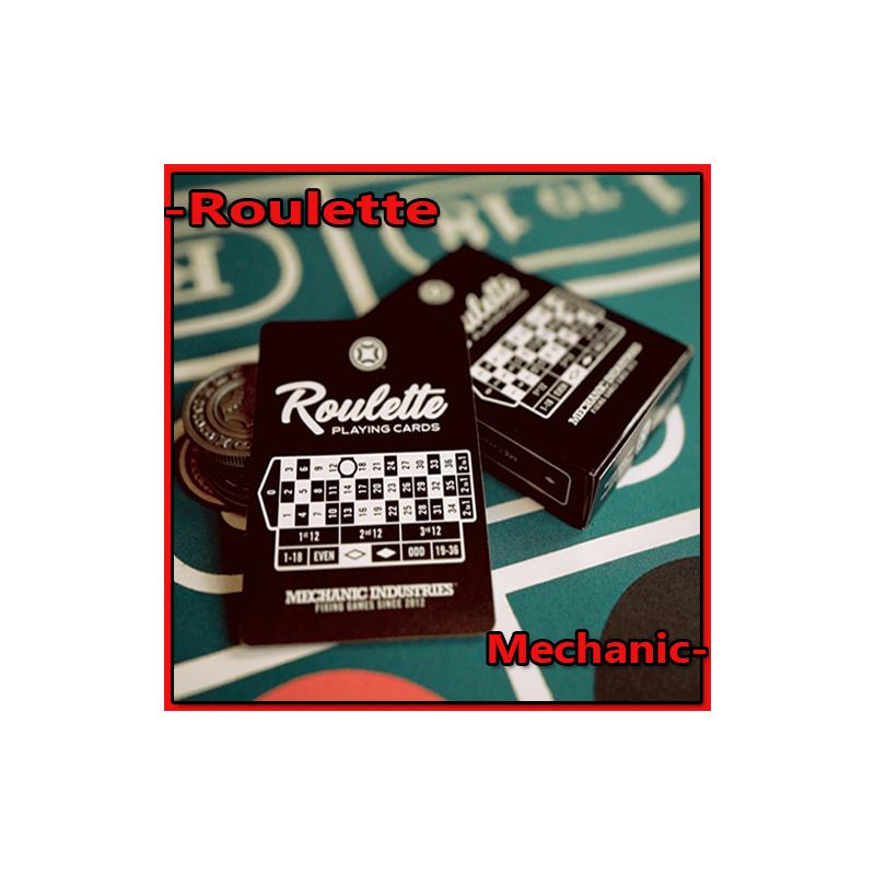 Jeu de carte Roulette - Mechanic Industries