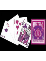 Bicycle inverse Rose / Fushia