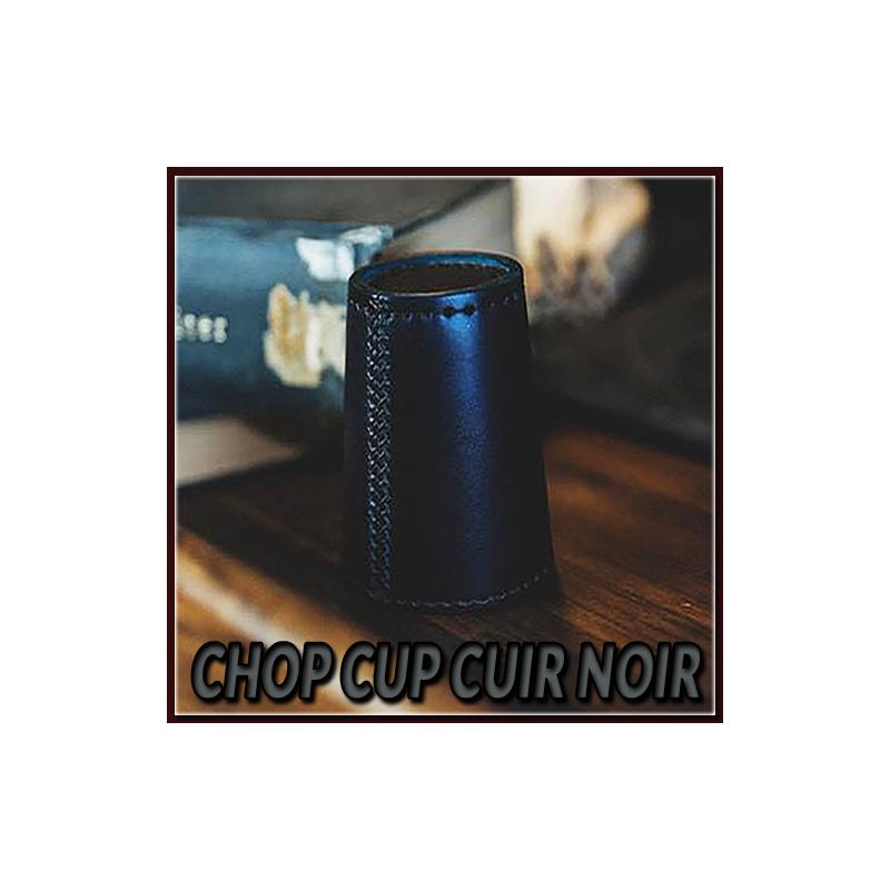 Chop Cup Cuir Noir - TCC