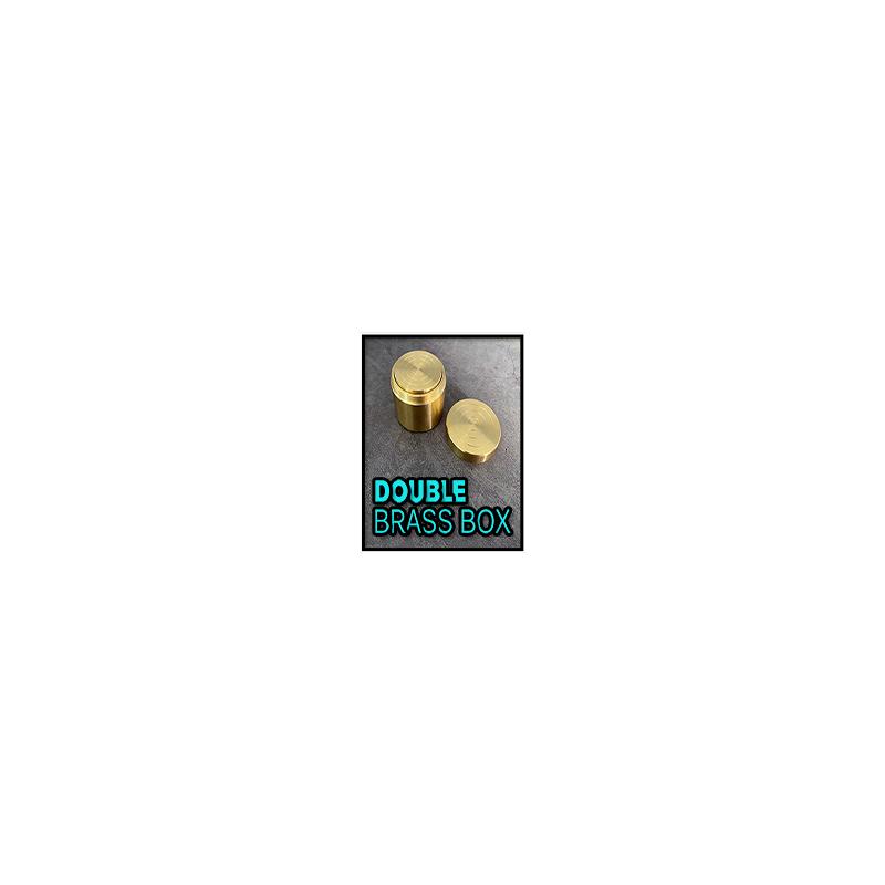 Double Brass Box - Boites Gigognes Laiton
