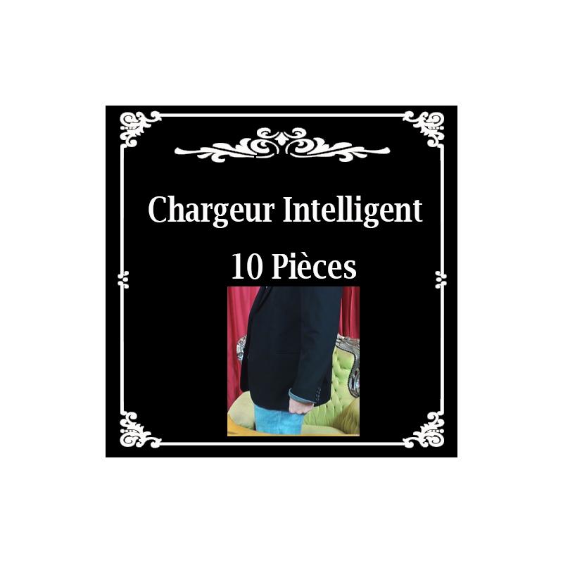 Chargeur intelligent 10 pièces. ( Jérome canolle )