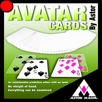 Avatar Cards Rouge - Astor